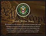 United States Army, Officially Licensed, Framed