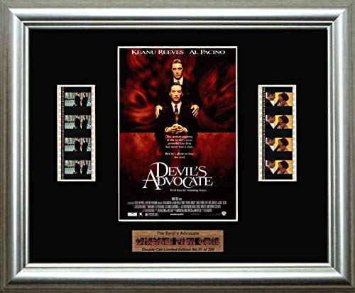 The Devil's Advocate - Framed double filmcell picture (sd)