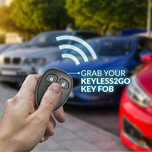 FOORDAY Keyless Entry Remote Control 4 Buttons Key Fob Clicker ...