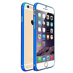 LliVEER Element Metal Frame Precision Crafted Aluminum Alloy Bumper Case for iphone 6 Plus 5.5 inch Blue