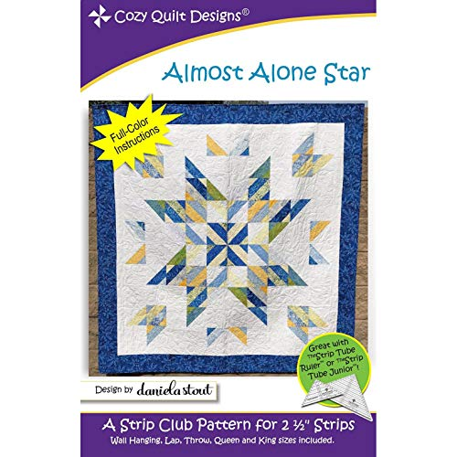 (Cozy Quilt Designs CQD01218 Almost Alone Star Pattern)
