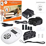 Pet Control HQ | Indoor Pet Wireless Electric Fence Barrier Containment System for Dogs, Cats, Universal Shock Collar for Dog Deterrent Radio Device in 1 (Main Kit)