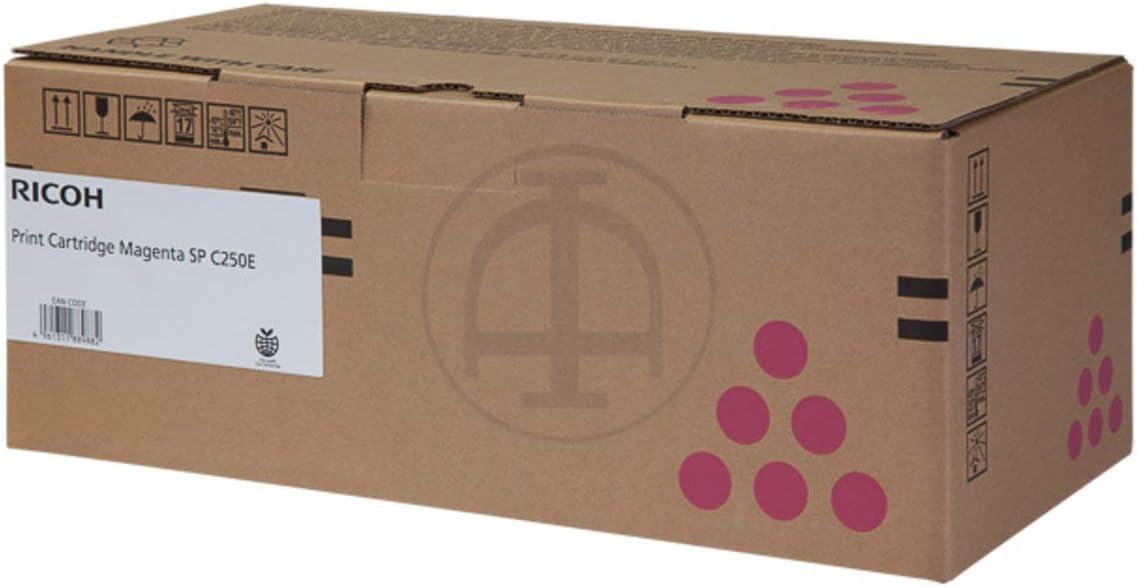 Ricoh Original Ricoh Aficio Sp C 250 Sf 407545 Toner Magenta 1 600 Seiten Bürobedarf Schreibwaren