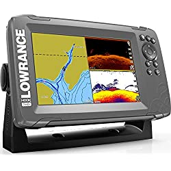 Lowrance HOOK2 7 - 7-inch Fish Finder with SplitShot Transducer and US/Canada Navionics+ Map Card ...
