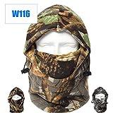 Dxnona® Outdoor Warm Windproof Camouflage Fleece Head Hat Face Mask (multicolor 1)
