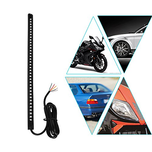 - Powstro Led Car Motorcycle Strip Light, Universal 12