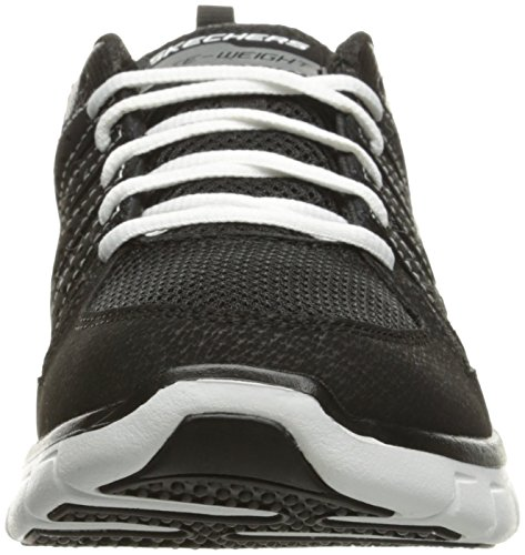 look blanco Skechers Zapatillas Para Book Synergy Mujer De Running Negro 55znv
