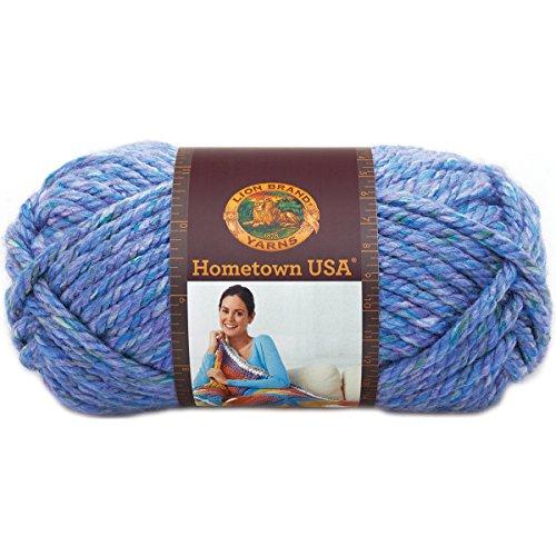 Lion Brand Yarn 135-211 Hometown USA Yarn, Jersey - Garden Jersey