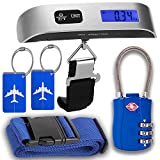 Luggage Accessories Kit, Luggage Scale, TSA Luggage Lock, Luggage Tags, Luggage Strap, gift