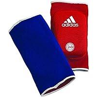 adidas adict01 - Coderas Acolchadas Reversibles, Color Rojo