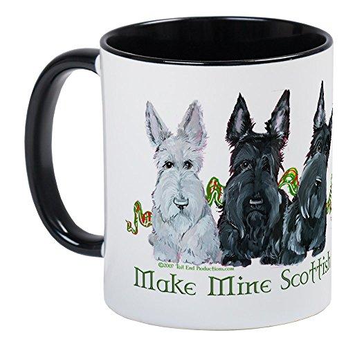 (CafePress Scottish Terrier Trio Mug Unique Coffee Mug, Coffee Cup)