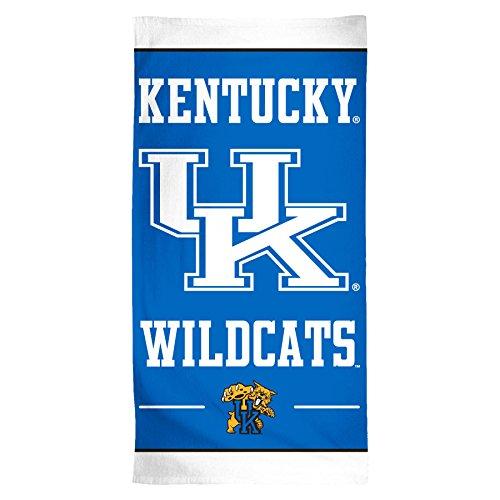 NCAA Kentucky Wildcats Fiber Beach Towel, 30 x 60-Inch