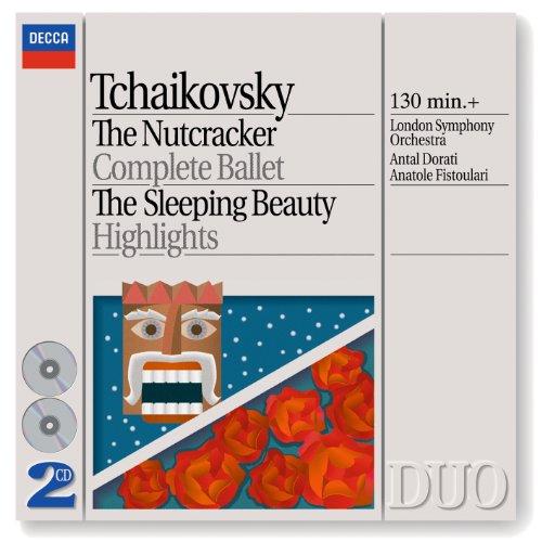 Tchaikovsky: The Nutcracker; The Sleeping Beauty - highlights (2 CDs) (Philips Philips Cd)