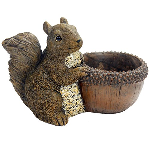 Michael Carr Designs 80081 Squirrel Planter