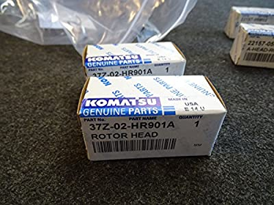 Lot of 2 Komatsu Rotor 37Z-02-HR901A for H20 Engines