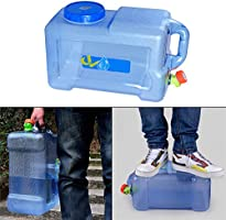 2bc2abe620d Amazon.com  Aneil Drinking Water Storage Containers with Spigot and ...