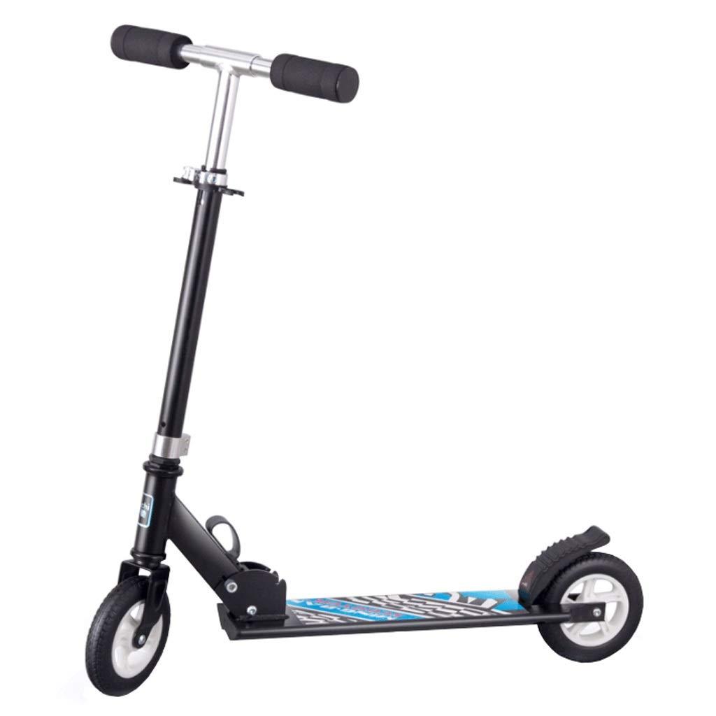 贈り物 WangYi さいず スケートボード- 514歳の子供用の二輪折りたたみスクーター 黒 (色 : 黒 くろ, サイズ B07NMKB9LJ さいず : 75x86cm) B07NMKB9LJ 黒 くろ 75x86cm, 古着のオーバーフロークロージング:a6563f20 --- a0267596.xsph.ru