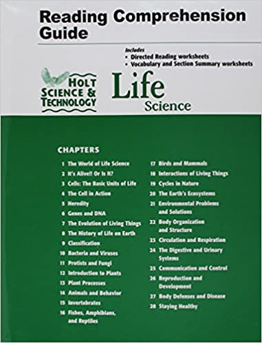 Holt Science Technology Life Science Reading