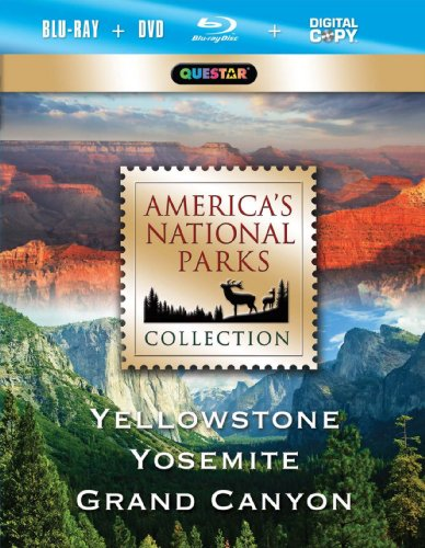 America's National Park Collection - Yellowstone, Yosemite, Grand Canyon [Blu-ray]
