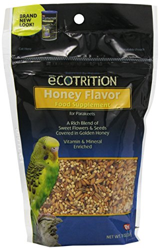 - Ecotrition Golden Honey Food Supplement For Parakeets, 8-Ounce