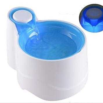 QFFL chongwuyinshuiji Dispensador de Agua para Mascotas Bebedor de circulación de oxígeno automático Dispensador de Agua con Filtro eléctrico 3 Colores ...