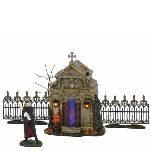 Department 56 Accessories for Villages Halloween Rest in Peace 2017 Accessory Figurine, 5.98 inch -