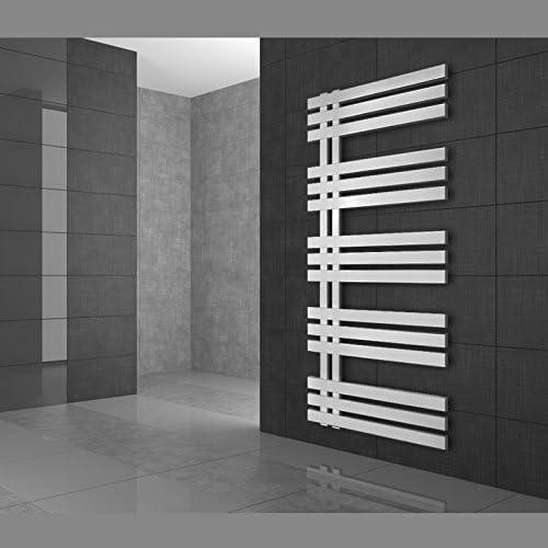 1400 Blanc Radiateur Design Radiateur S/èche Serviette Porte Serviette Mural 600