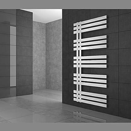 Radiador de Diseño Radiador Toallero Radiador de Calefacción 600 x 1200 Blanco