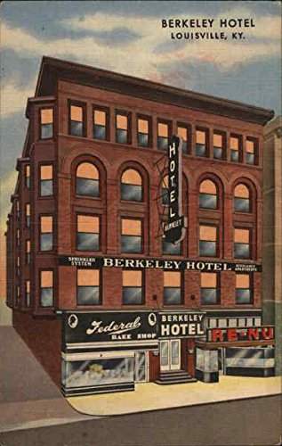 Berkeley Hotel Louisville, Kentucky Original Vintage Postcard