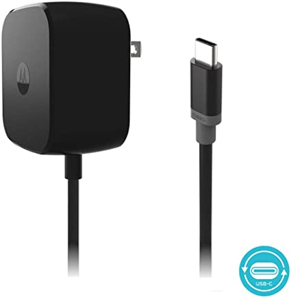 Motorola TurboPower 30 USB-C / Type C Fast Charger - SPN5912A (Retail Packaging) for Moto Z Force
