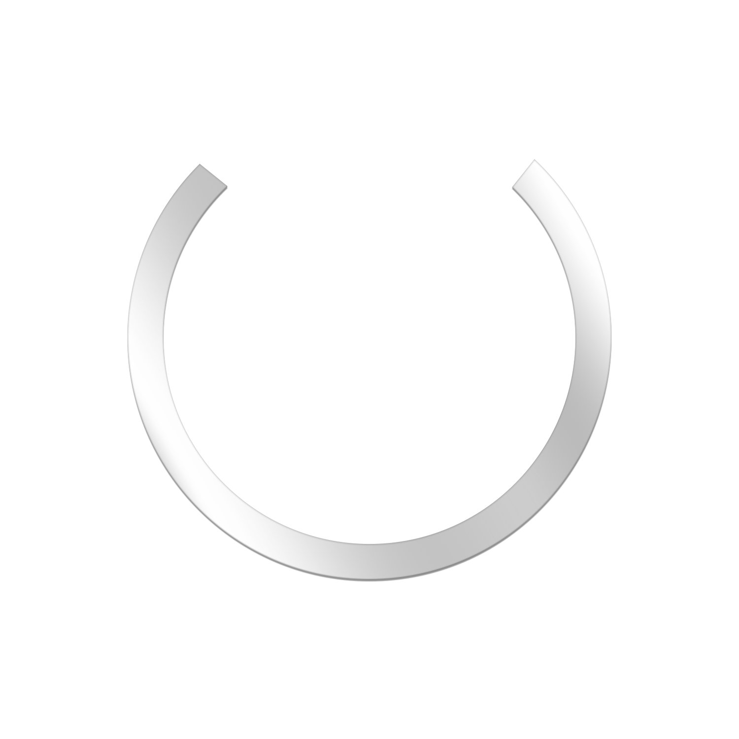 5 pcs Metal Ring for Magnetic Qi Wireless Charger 60.8MM//2.39inch Round Ring for TankShip Magnetic Wireless Car Charger Car Mount Phone Holder Qi Standard Mobile Cell Phone Apple Special