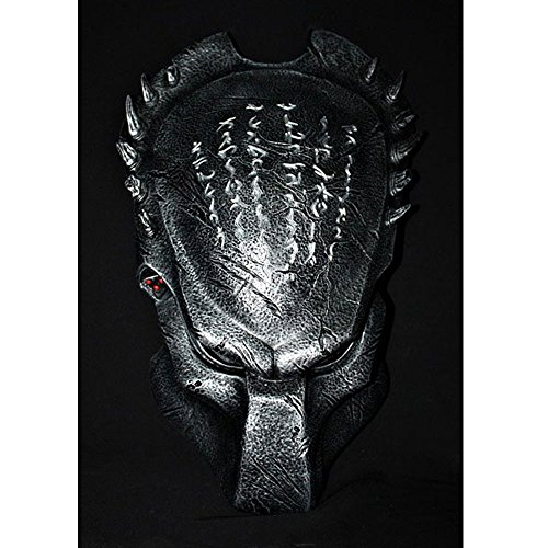 1:1 Full Scale Prop Replica AVP Predator Helmet Halloween Costume Wall Mask Home Decor Wolf PD5 ()