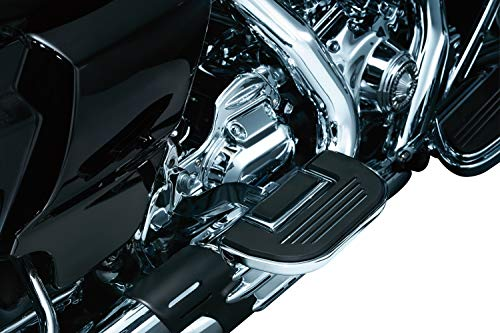 Kuryakyn 4351 Motorcycle Accessory: Premium Folding Boards for Driver or Passenger Floorboards, Chrome, 1 Pair