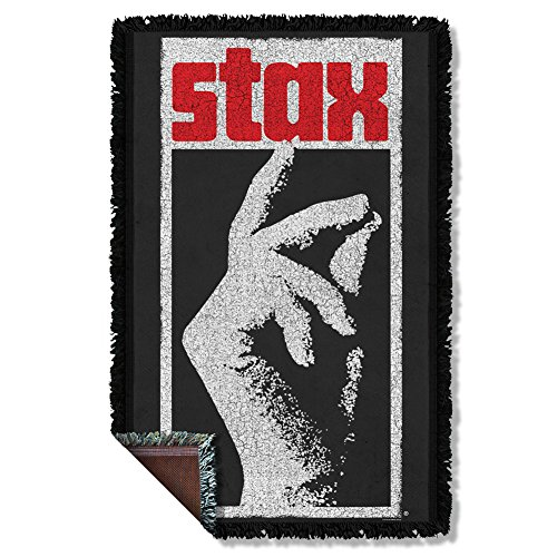 Stax Woven Throw Throw Blanket 35 x 57in
