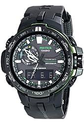 Casio Men's PRW-6000Y-1ACR Pro Trek Black Analog-Digital Sport Watch