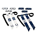 Franklin Sports NFL Indianapolis Colts Youth Flag Football Set