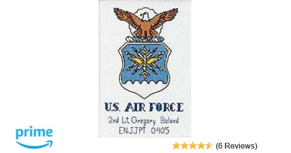 Cross stitch chart Seal Pattern Navy Coast Guard Logo US