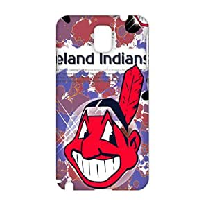 CCCM Cleveland Indians 3D Phone Case for Samsung Note 3 by Maris's Diaryby Maris's Diary