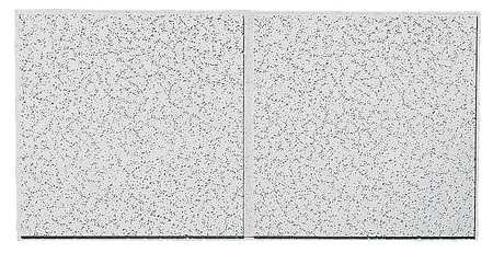 Acoustical Ceiling Tile 48''X24'' Thickness 3/4'', PK10