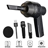 Eleshroom Cordless Computer Vacuum Cleaner, Portable Mini...