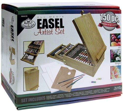 USA Wholesaler - 10967405 - Easel Artist Set-All Media-150 Pieces