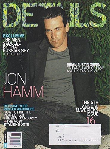 Details October 2010 Jon Hamm (The 5th Annual Mavericks - Jon Hamm Style