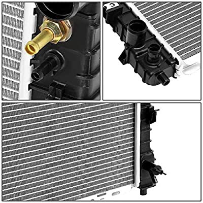 Replacement for 01-07 Escape/Tribute/Mariner 3.0 V6 AT/MT Lightweight OE Style Full Aluminum Core Radiator DPI 2307: Automotive