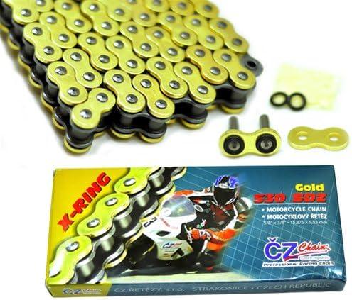 CZ Chains CZ530120BLK Black 530-Pitch 120-Link SDZ X-Ring Chain