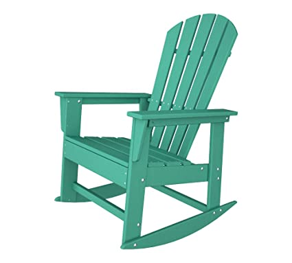 Good POLYWOOD SBR16AR South Beach Rocker, Aruba
