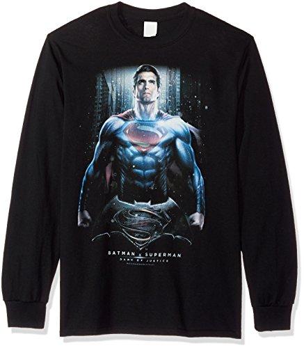 Trevco Men's Batman Vs. Superman supe Ground Zero Long Sleeve T-Shirt at Gotham City Store