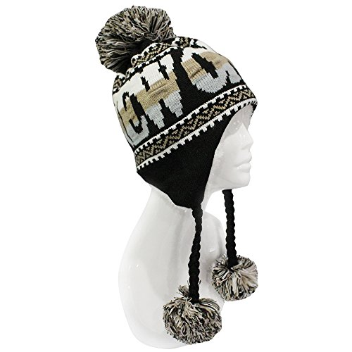 ChoKoLids Football Team City Name Knitted Pom Pom Earflap Winter Hat - 23 Cities (New (New Earflap)