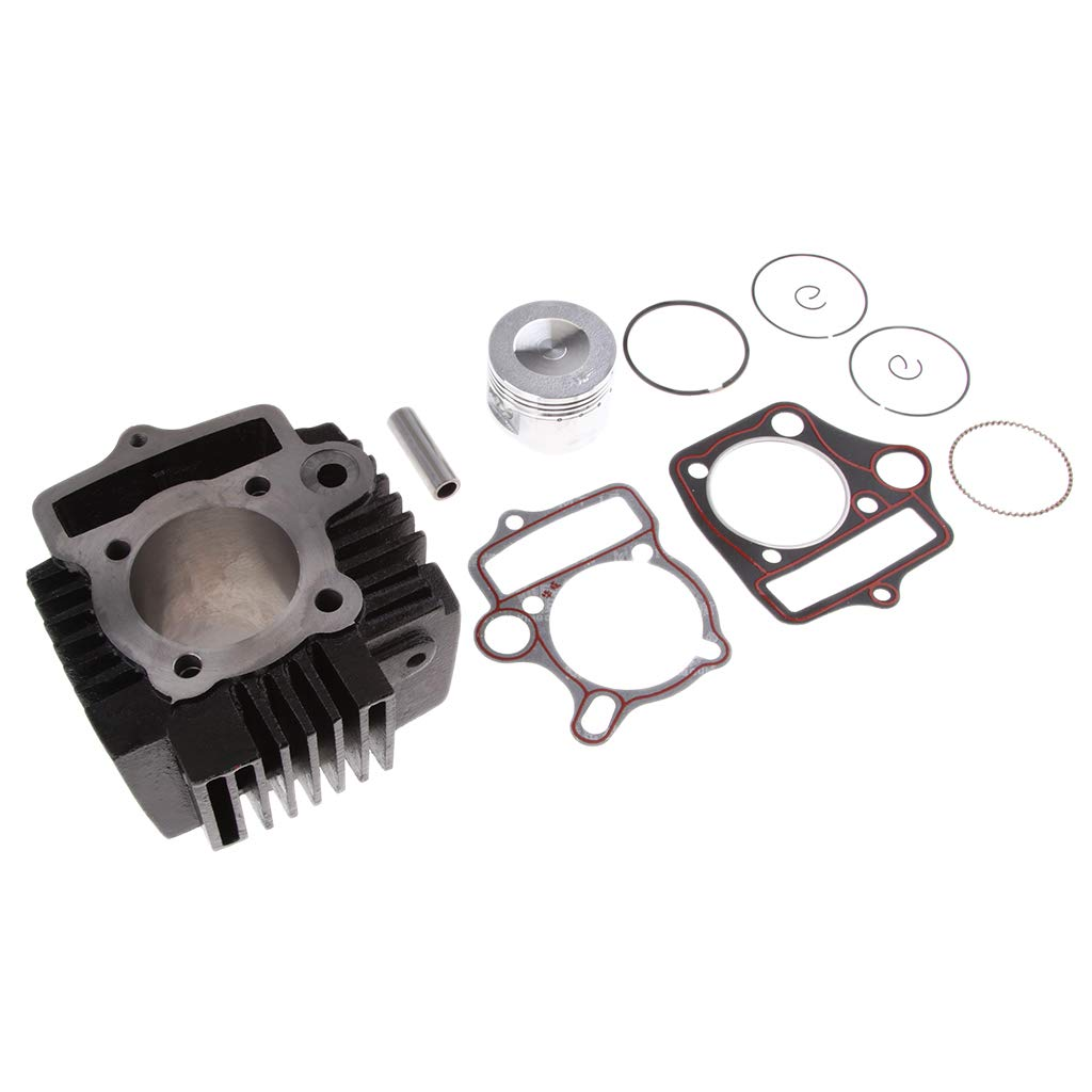 perfeclan Kit dAnneaux de Piston de Cylindre 52mm Set de Segentation M/écanique
