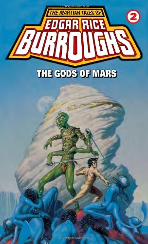 book cover of The Gods of Mars