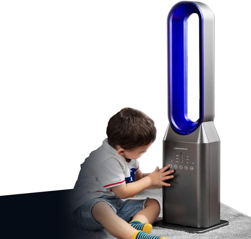 Zzxxo Ventiladores de Torre Digital,Ventilador de Torre Silencioso con tecnología Air Multiplier,Incluye Mando a Distancia. Ventilador de bajo Consumo con función de Temporizador, oscilación de 180°